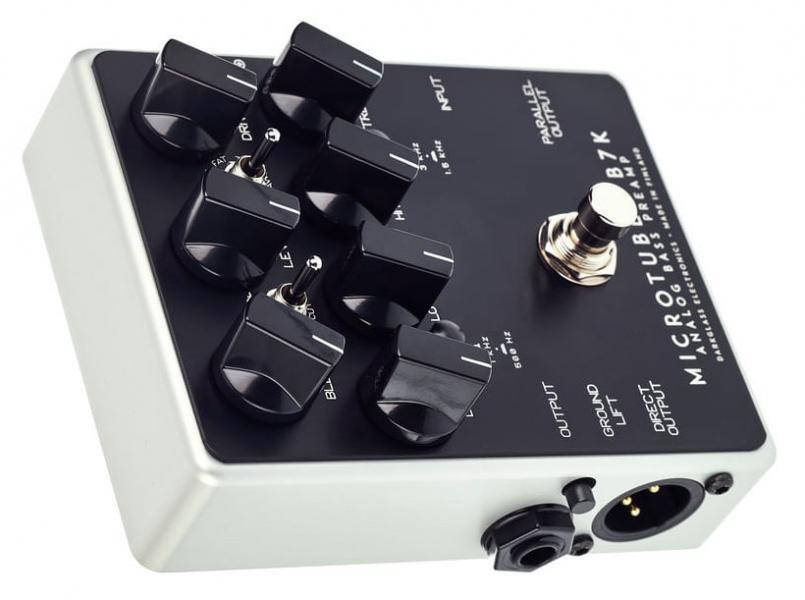 Pedala preamplificator /efect Overdrive pentru chitara bass Darkglass Microtubes B7K V2 Bass Overdrive