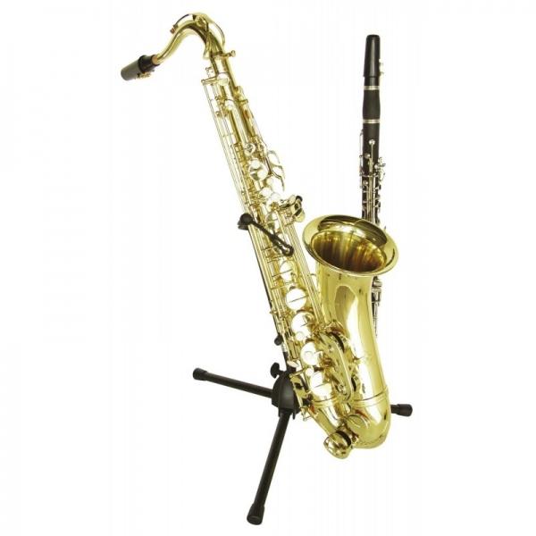 Dimavery Saxophone + Clarinet Stand