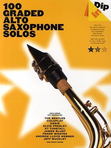 No brand Dip In: 100 Graded Alto Sax Solos
