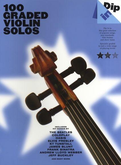 No brand Dip In - 100 Graded Violin Solos