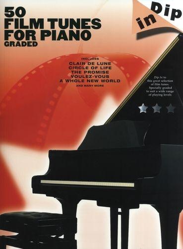 No brand DIP IN 50 FILM TUNES FOR PIANO GRADED PF BOOK