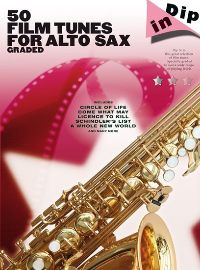 No brand Dip In: 50 Graded Film Tunes For Alto Saxophone