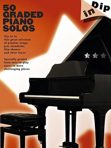 No brand DIP IN 50 GRADED PIANO SOLOS PF BOOK