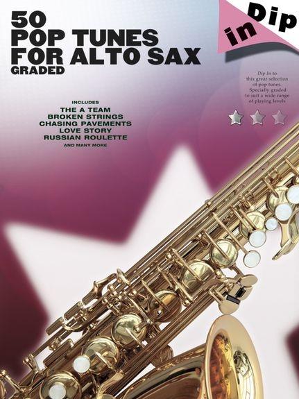No brand Dip In: 50 Graded Pop Alto Saxophone Solos