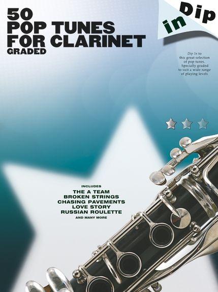 No brand Dip In: 50 Graded Pop Clarinet Solos