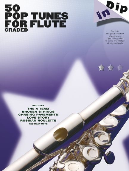 No brand Dip In: 50 Graded Pop Flute Solos
