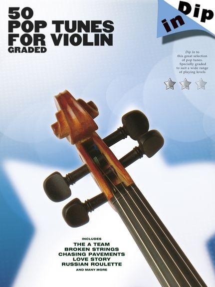 No brand Dip In: 50 Graded Pop Violin Solos