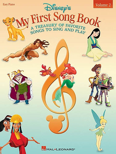 No brand DISNEY'S MY FIRST SONG BOOK VOLUME 2 EASY PIANO SONGBOOK BK