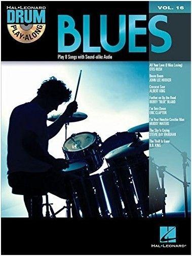 No brand Drum Play-Along Volume 16: Blues
