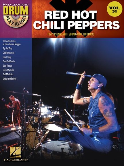 No brand Drum Play-Along Volume 31: Red Hot Chili Peppers