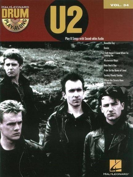 No brand Drum Play-Along Volume 34: U2