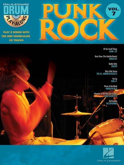 No brand Drum Play-Along Volume 7: Punk Rock