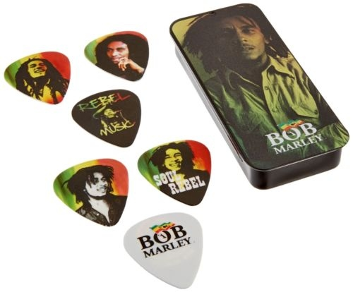 Set pene de chitara Dunlop Bob Marley Collection