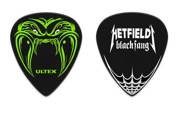 Pana de chitara semnatura James Hetfield Dunlop Black Fang
