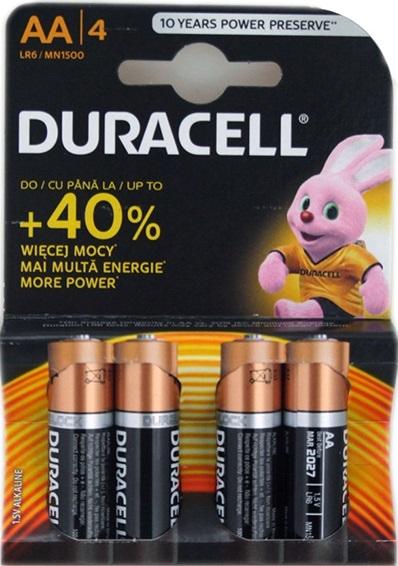 DuraCell Basic AA (R6) B4 Pack