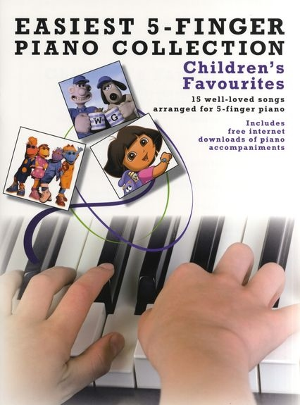 No brand Easiest 5-Finger Piano Collection: Children's Favourites