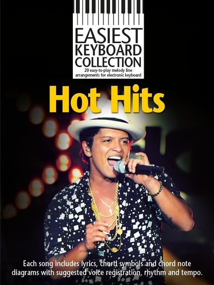 No brand EASIEST KEYBOARD COLLECTION HOT HITS KBD BOOK