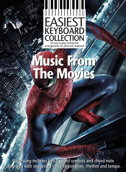 No brand EASIEST KEYBOARD COLLECTION MUSIC FROM THE MOVIES KEYBOARD