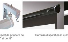 Ecran de proiectie de perete/tavan retractabil cu actionare manuala Elitescreens M109NWX