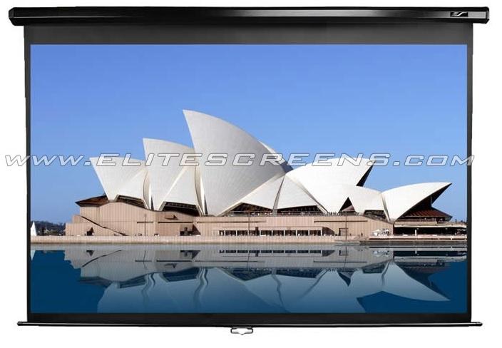 Ecran de proiectie de perete/tavan manual Elitescreens M92UWH