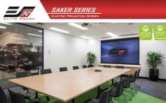 Ecran proiectie electric cu montare pe perete sau tavan Elitescreens SK110XHW-E12