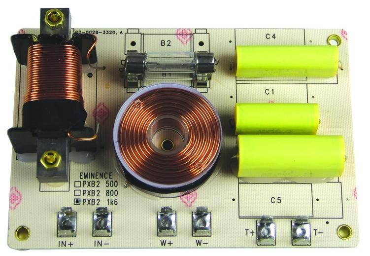 Circuit de crossover / filtru pe 2 cai, Eminence PXB 21K6