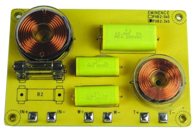 Circuit de crossover / filtru pe 2 cai Eminence PXB 23K5