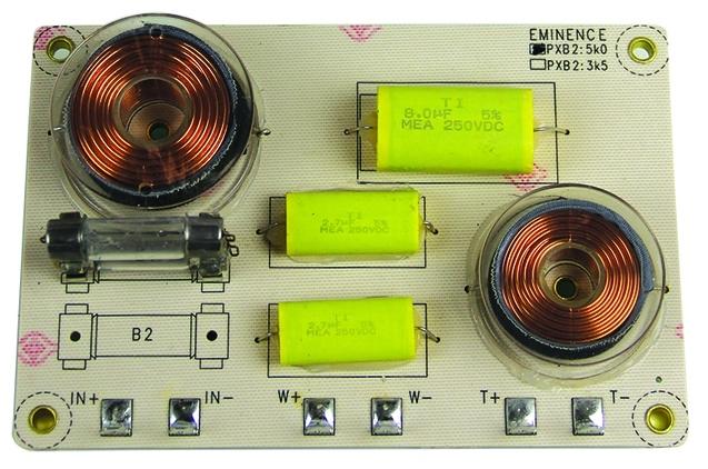 Circuit de crossover / filtru pe 2 cai Eminence PXB 25K0