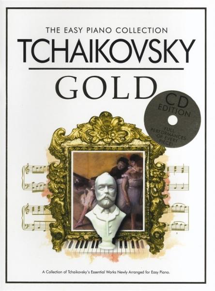 No brand EPF COLL TCHAIKOVKY GOLD EASY PF BK/CD