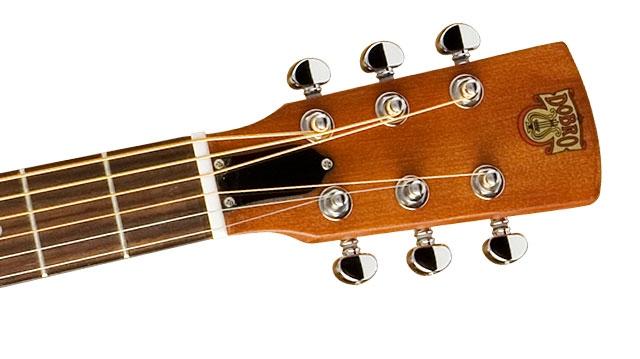 Chitara electro-acustica de tip dobro resonator Epiphone Dobro Hound Dog Deluxe Round Neck