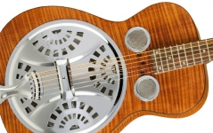 Chitara electro-acustica de tip dobro resonator Epiphone Dobro Hound Dog Deluxe Square Neck