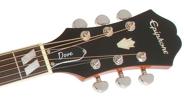 Chitara electro-acustica dreadnought/western Epiphone Dove Pro
