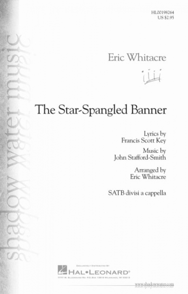 No brand Eric Whitacre: The Star-Spangled Banner (SATB)
