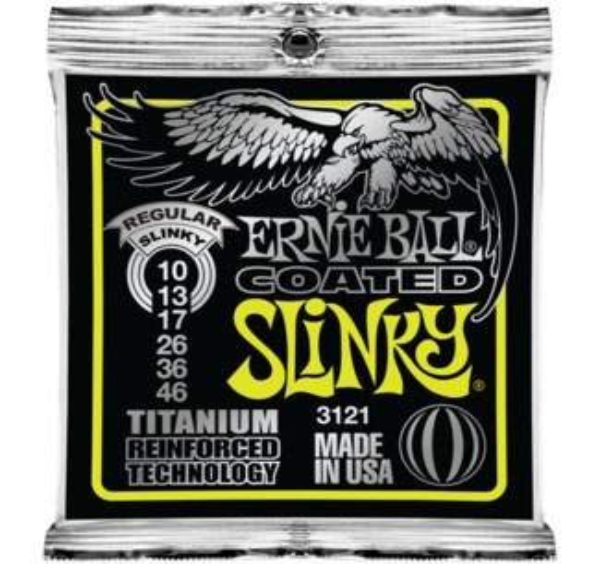 Ernie Ball Coated Regular Slinky 3121