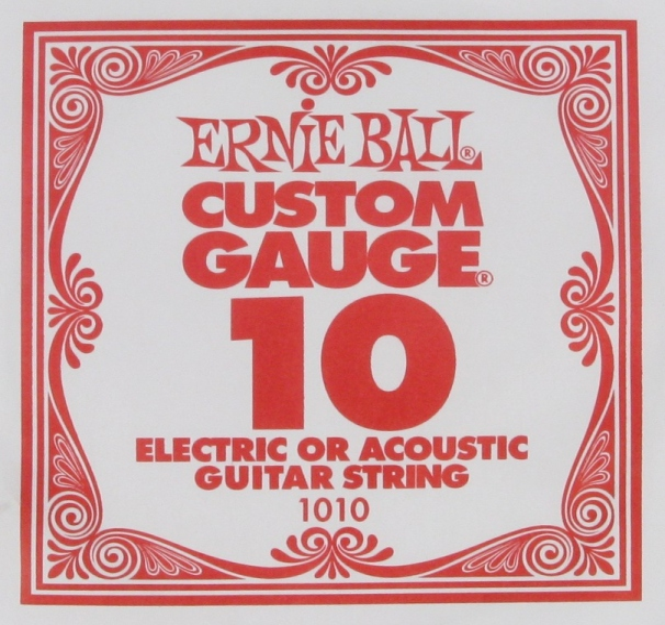 Ernie Ball Plain Steel 1010