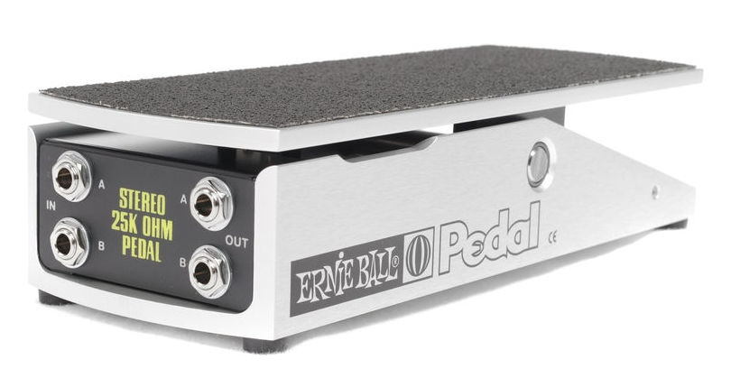 Pedala stereo de volum pentru chitara Ernie Ball Volume Stereo 25k