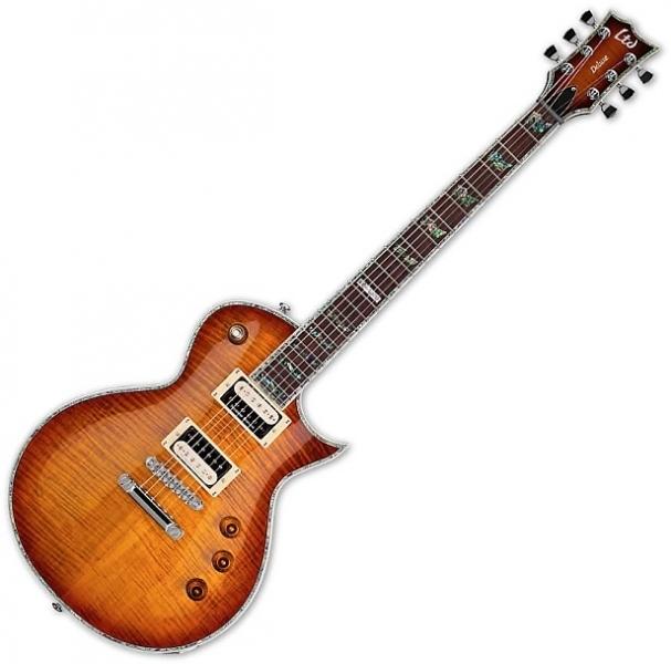 Chitara electrica tip LP ESP LTD EC-1000 FM ASB