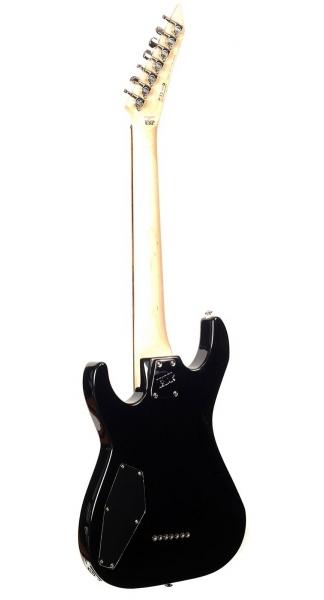 Chitara electrica cu 7 corzi ESP LTD M-17 BLK