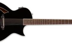 Chitara electro-acustica cu 6 corzi ESP LTD TL-6 BLK