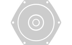 Chitara electrica semi-hollow body cu 6 corzi ESP LTD XTone PS-1 SFG