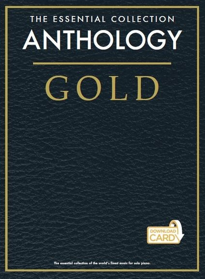 No brand ESSENTIAL COLLECTION GOLD ANTHOLOGY PIANO SOLO BOOK & DOWNLOAD CARD