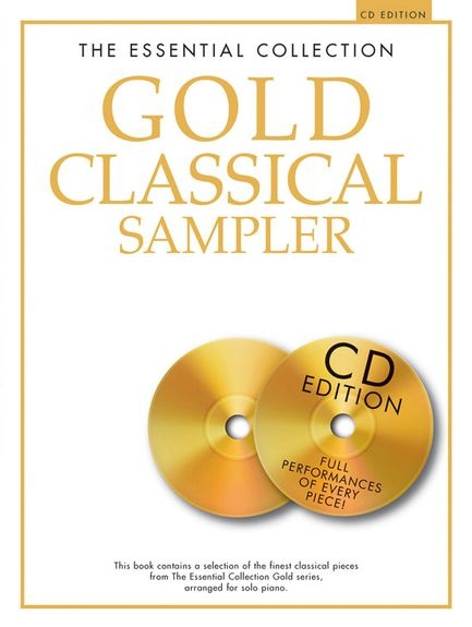 No brand ESSENTIAL COLLECTION GOLD CLASSICAL SAMPLER PF BOOK/2CD