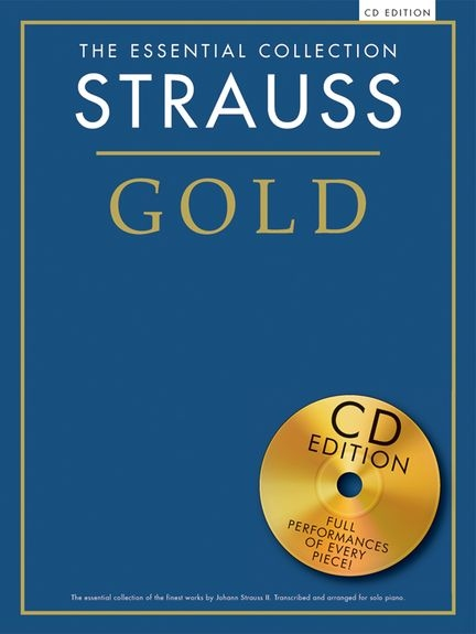 No brand ESSENTIAL COLLECTION STRAUSS GOLD PIANO BOOK/CD