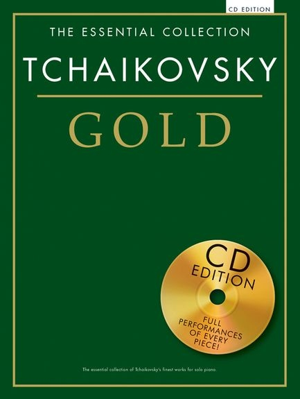 No brand ESSENTIAL COLLECTION TCHAIKOVSKY GOLD PIANO BOOK/CD