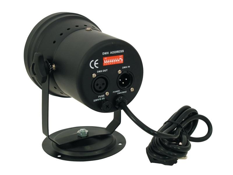 Eurolite LED T-36 RGB 10mm Black