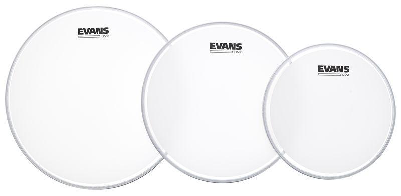 Evans UV2 Coated Tom Pack 10/12/14