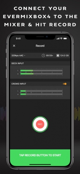 Evermix Box4 DJ Set Recorder iOS