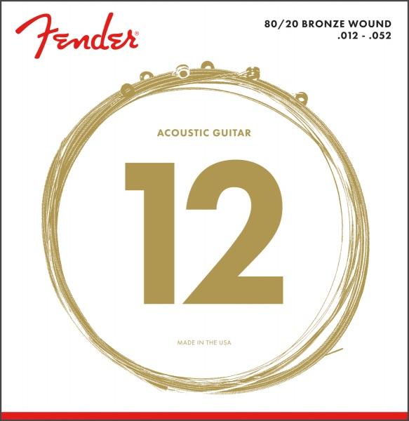 Fender 80/20 Bronze 70L 12-52