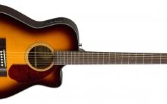 Chitara electro-acustica concert cu cutaway Fender CC-140 SCE SB w/ Case