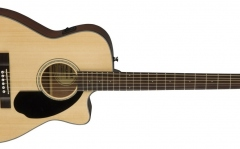 Chitara electro-acustica concert cu cutaway Fender CC-60 SCE Nat